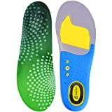 Feetmat Premium Shoe Insoles,Orthotics Soles for Flat Feet,Arch Comfort Sport Footbeds,Mens Sizes 8-12