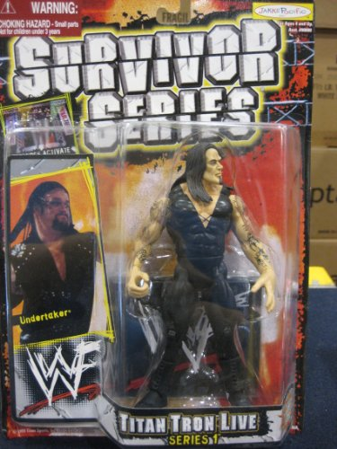 WWF Survivor Series Titan Tron Live Series 1 - Undertaker