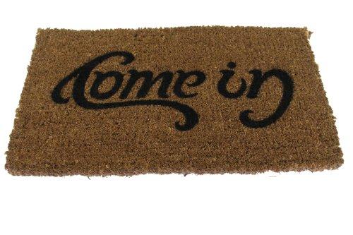 SUCK UK Ambigram Door Mat - Come in, Go Away