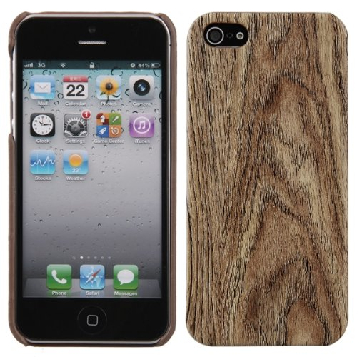 Tree Wood Grain Pattern Hard Back Case Cover Protector Skin for iPhone 5