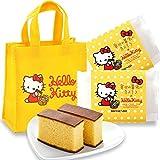 長崎心泉堂 バレンタイン ハローキティ×ミニトートバッグ VDF10 (幸せの黄色いカステラ個包装2個)