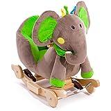 Schaukeltier Wippe aus Holz 3 Modelle