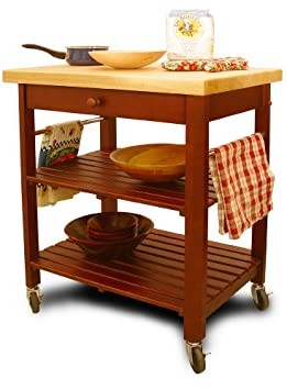 Superb Serving Carts Catskill Craftsmen Kitchen Roll About Cart