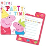 Peppa Pig Invitations (Pk 6)