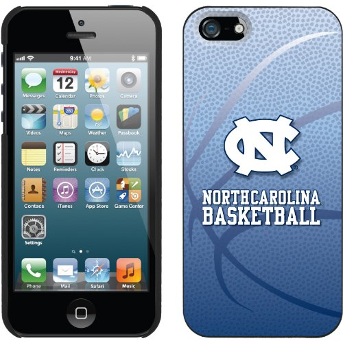 Special Sale NCAA North Carolina Tar Heels (UNC) iPhone 5 Basketball Snap-On Case - Carolina Blue