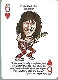 EDDIE VAN HALEN - Oddball ROCK & ROLL Playing Card