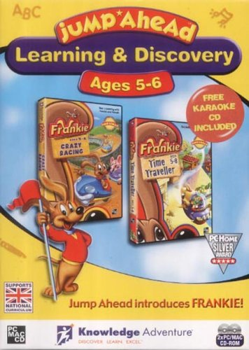 Jump Ahead Learning & Discovery Pack:Ages 5-6 (Frankie Crazy Racing & Frankie Time Traveller)