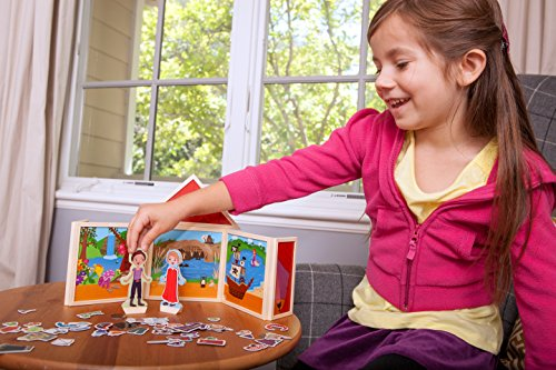 Build & Imagine: Fairytale Theater (adorable magnetic building and storytelling set with wooden characters)