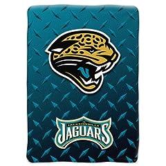 NFL Jacksonville Jaguars 60x80 Raschel Blanket by Northwest
