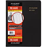 AT-A-GLANCE Weekly Planner / Appointment Book, Academic Year, 14 Months, July 2015-August 2016, 8.25 x 10.88 Inch Page Size (70-957-05)