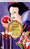 Snow White and the Seven Dwarfs (Disney Platinum Edition) [VHS]