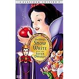 Snow White and the Seven Dwarfs (Disney Platinum Edition) [VHS] ~ Adriana Caselotti
