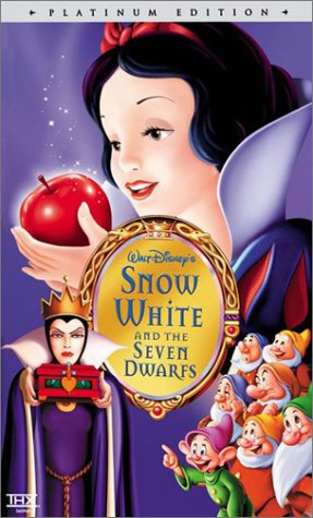 Snow White and the Seven Dwarfs (Disney Platinum Edition) [VHS]