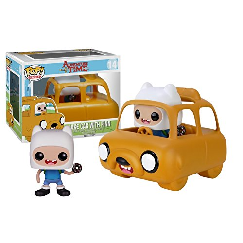 POP Rides Adventure Time - Jake Car with Finn Vinyl Figure