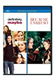 Definitely Maybe / Because I Said So [DVD] [Region 1] [US Import] [NTSC]
