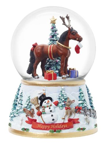 Holiday Musical Snow Globe
