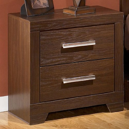 Night Stand Oak front-1065524