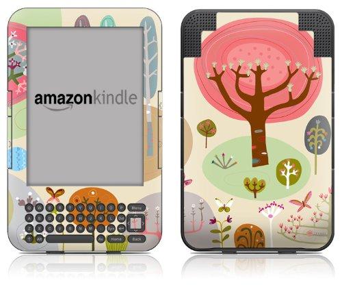 DecalGirl Kindle Skin (Fits Kindle Keyboard) Forest (Matte Finish)