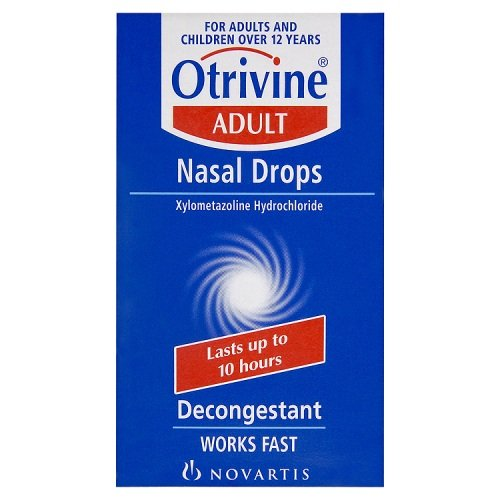 Otrivine Adult Decongestant Drops -  10ml