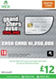 Xbox Live £12 Gift Card: Grand Theft Auto Cash Card [Xbox Live Online Code]