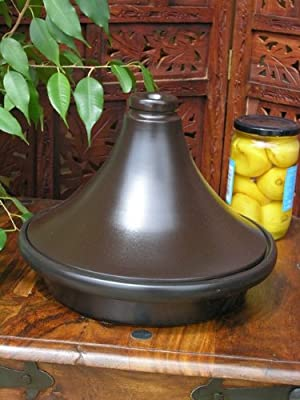 Large Professional Black Tagine from Maroque
