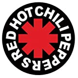 Posters: Red Hot Chili Peppers Sticker Adhesive Decal - Logo (4 x 4 inches)