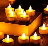 Sumilulu 3PC LED Flameless Candles Wedding Light Realistic Battery-Powered