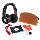 Syllable Wireless Bluetooth Headphone with Retractable and Foldable Design Noise Cancelling Function (Black) with FREE Excelvan Card Reader