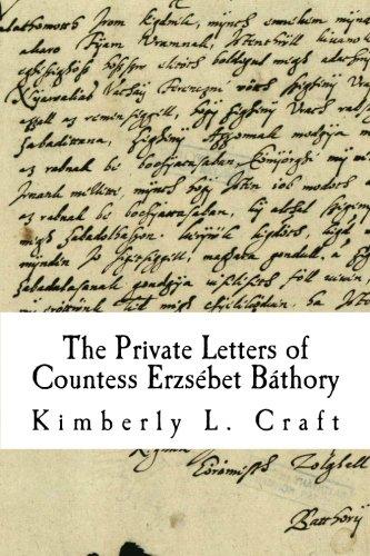 The Private Letters Of Elizabeth Bathory Pdf