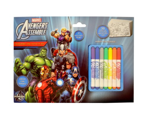Toyland Marvels The Avengers Colouring and Activity Set
