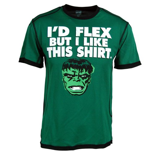 Marvel Comics Hulk Da Face Mens Green T-shirt Picture