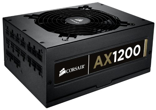 Corsair AX1200 Professional Series AX 1200W ATX/EPS Fully Modular 80 PLUS Gold PSU