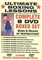 "Hot Sale ""Ultimate Boxing Lessons"" COMPLETE 8 DVD BOXED SET, Starring Boxing Coach Christopher Getz"