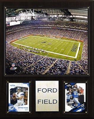 NFL Ford Field Stadium Plaque