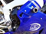 R&G Lower/Rear Crash Protetcors in Black to fit a Yamaha YZF-R1 (1998-2003)