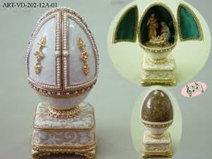 Faberge Egg Replica - Nativity