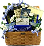 Christian Meanings Gift Basket of Cookies, Coffee, and Christian Gifts