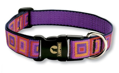 Buy Lupine 1″ Adjustable Collars – Ruby Cube – 15″-25″