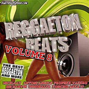 Vol. 8-Reggaeton Beats