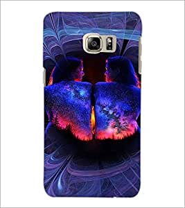 PrintDhaba Fantasy Girl D-4621 Back Case Cover for SAMSUNG GALAXY NOTE 5 EDGE (Multi-Coloured)