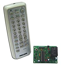 Learn Button Infrared Switch Remote Control 1 Relay Electronic Circuit KIT (SONY Protocol code) : FA440