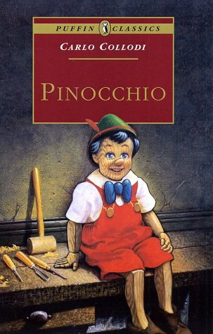Large book cover: Pinocchio