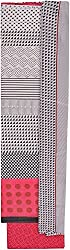 YR Traders Women's Cotton Straight Unstitched Dress Material (YR011, Pink & white, Free Size)
