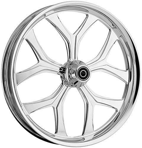 Ride Wright Wheels Inc Chicago Hustler Chrome Billet 18x5.5 Rear Wheel, Color: Chrome, Position: Rear, Rim Size: 18 0585-880-CH billet rear hub carriers for losi 5ive t