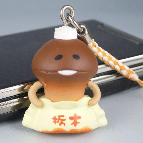 ストラップ ご当地 栃木限定 おさわり探偵なめこ栽培キット 餃子でんふんふ ねつけ / ラナ