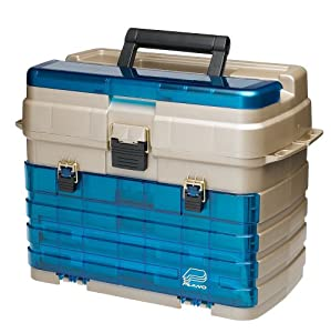 Plano 2 drawer and 2 utility tackle box for Amazon fishing equipment