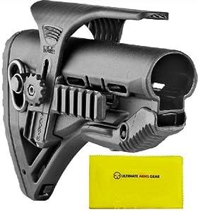 Fab Defense The Mako Group Stealth Black GL-ShockPCP GLSHOCKPCP+ Ultimate Arms Gear... by FAB DEFENSE-MAKO