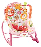 Fisher Price Y4544 Pink Infant - to - Toddler Rocker for Girls. 3 in 1 - Up to 18 KG.