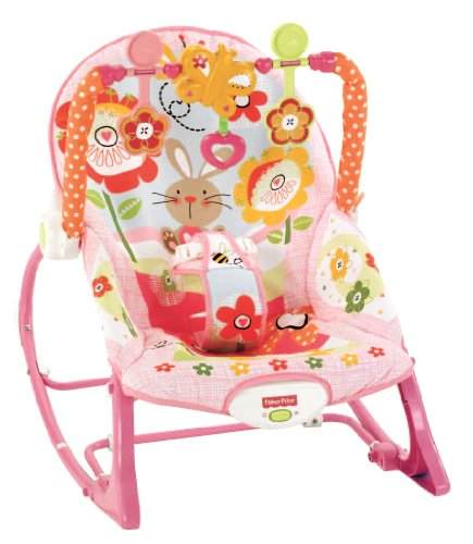 Best Review Of Fisher-Price Infant To Toddler Rocker, Bunny