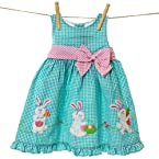 Bunny Applique Easter Dress